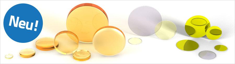 Laserschutz Linsen für CO2 Laser Laserschutzgläser Laserspiegel