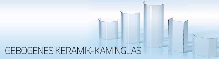 Ceramiczne, gięte szkło kominkowe (2)